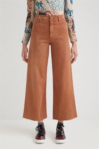 kalhoty Desigual Noak marron