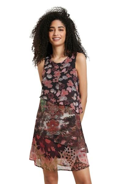 šaty Desigual Dalia rosa lovely