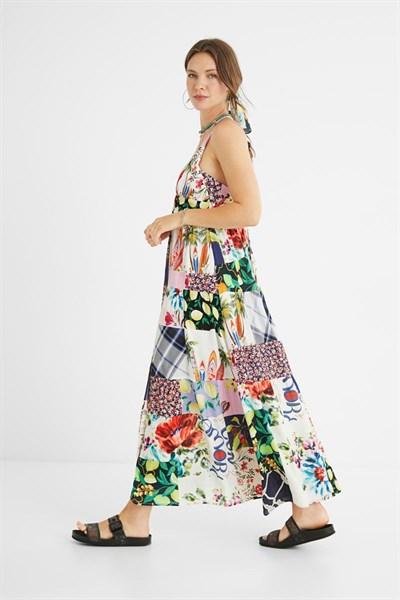 šaty Desigual Tropical tutti fruti