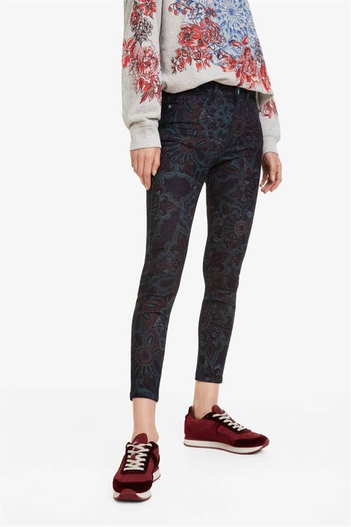 kalhoty Desigual Mimi dark denim