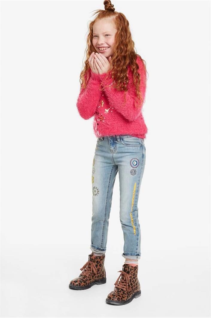 jeansy Desigual Fer denim medium light