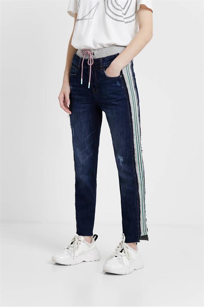 jeansy Desigual Clemente denim dark blue