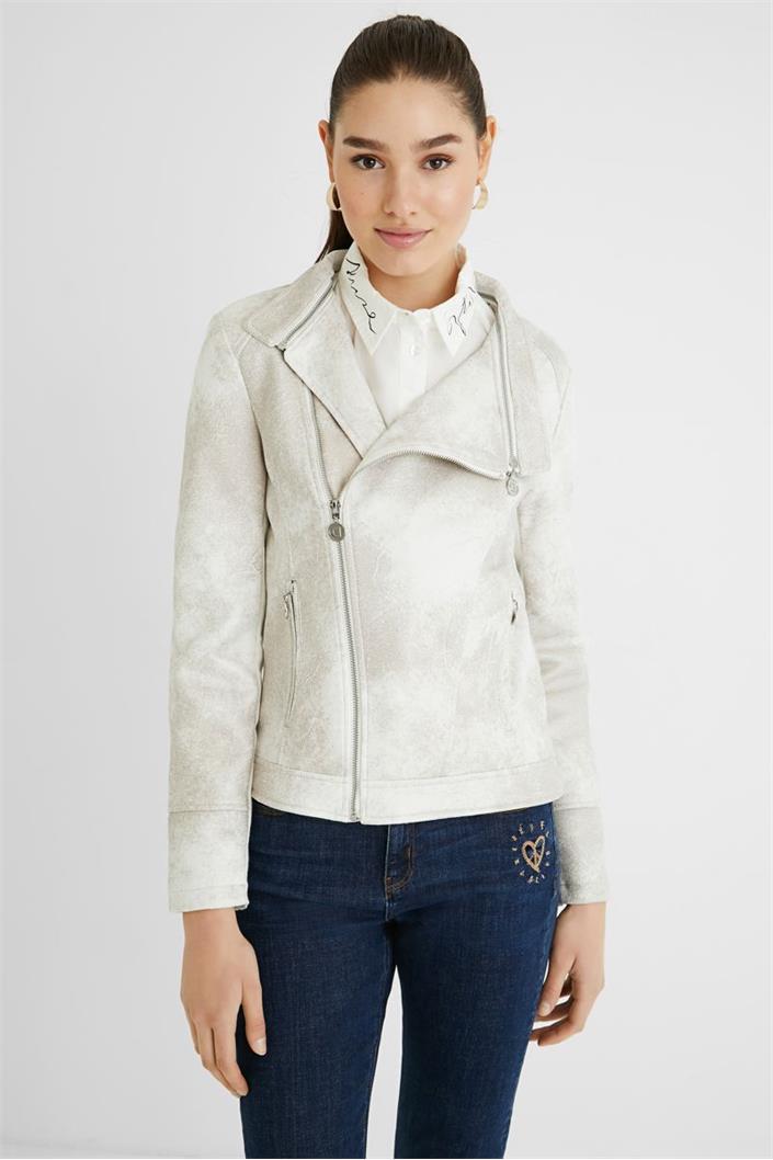 kabát Desigual Broward crudo