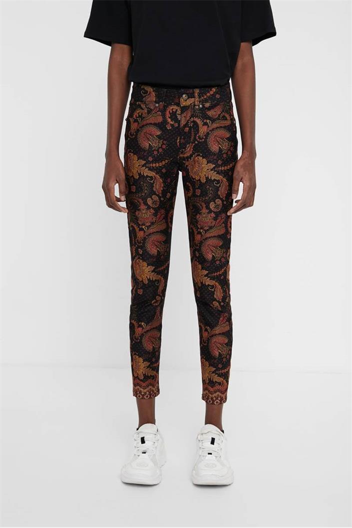 kalhoty Desigual Miver negro