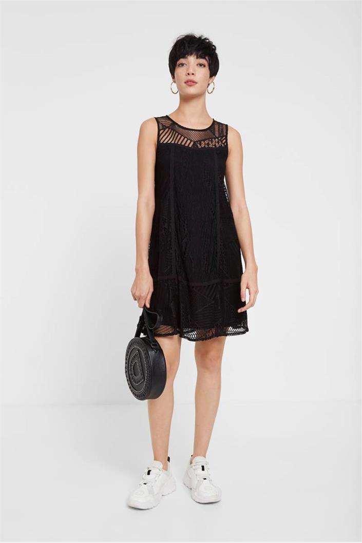 šaty Desigual Keira negro