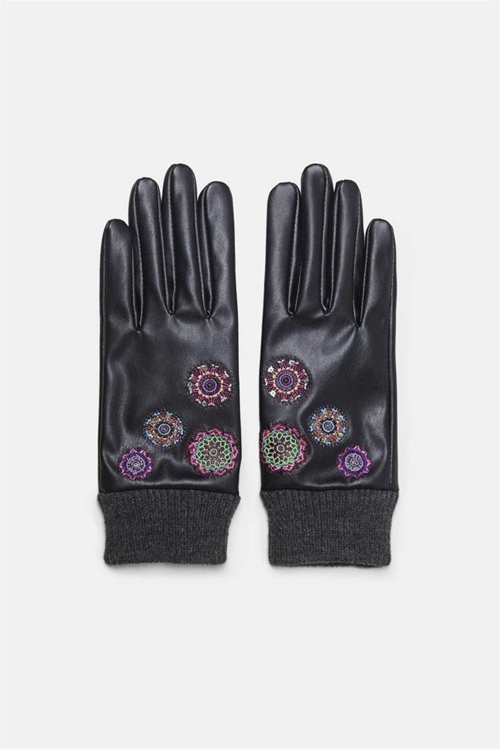 rukavice Desigual Astoria negro