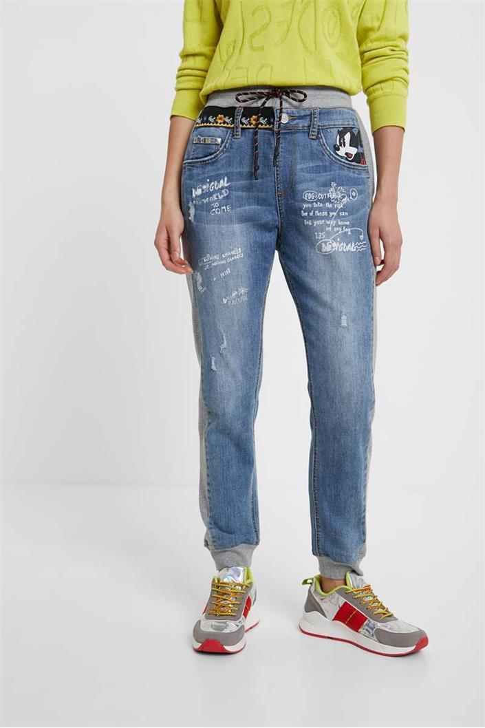 jeansy Desigual Roma denim medium light