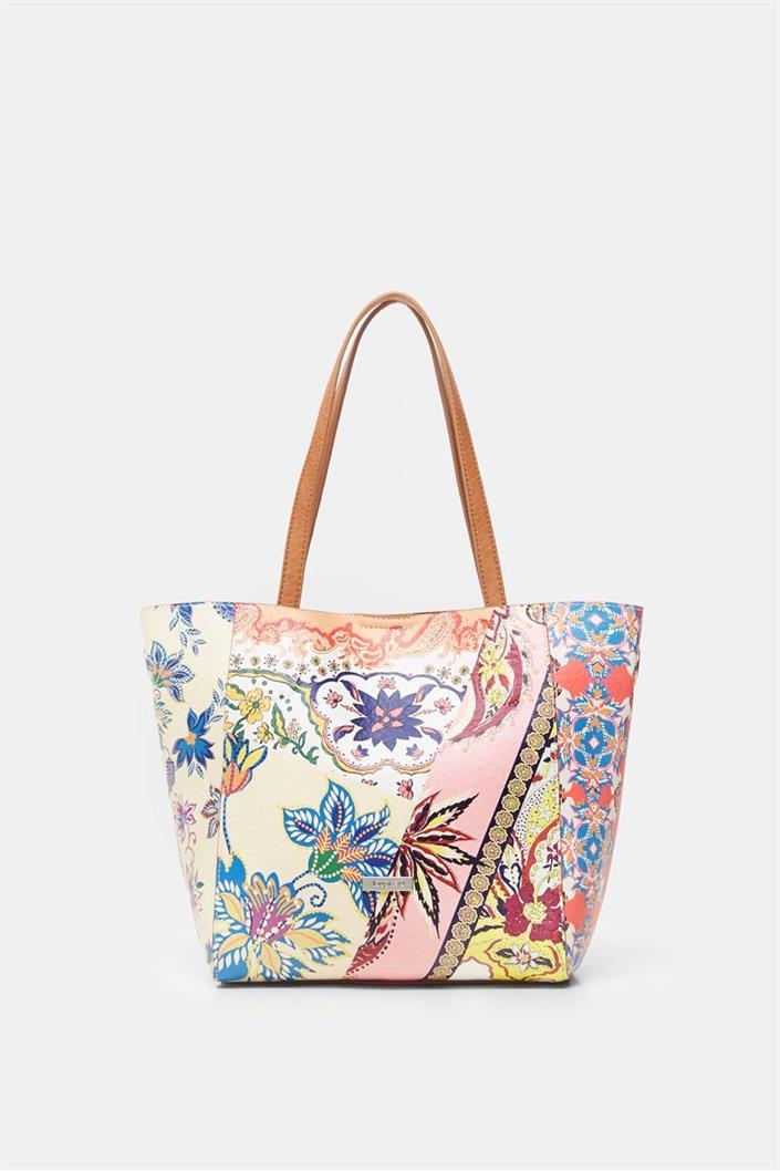kabelka Desigual Pink Boho Norw rosa palido