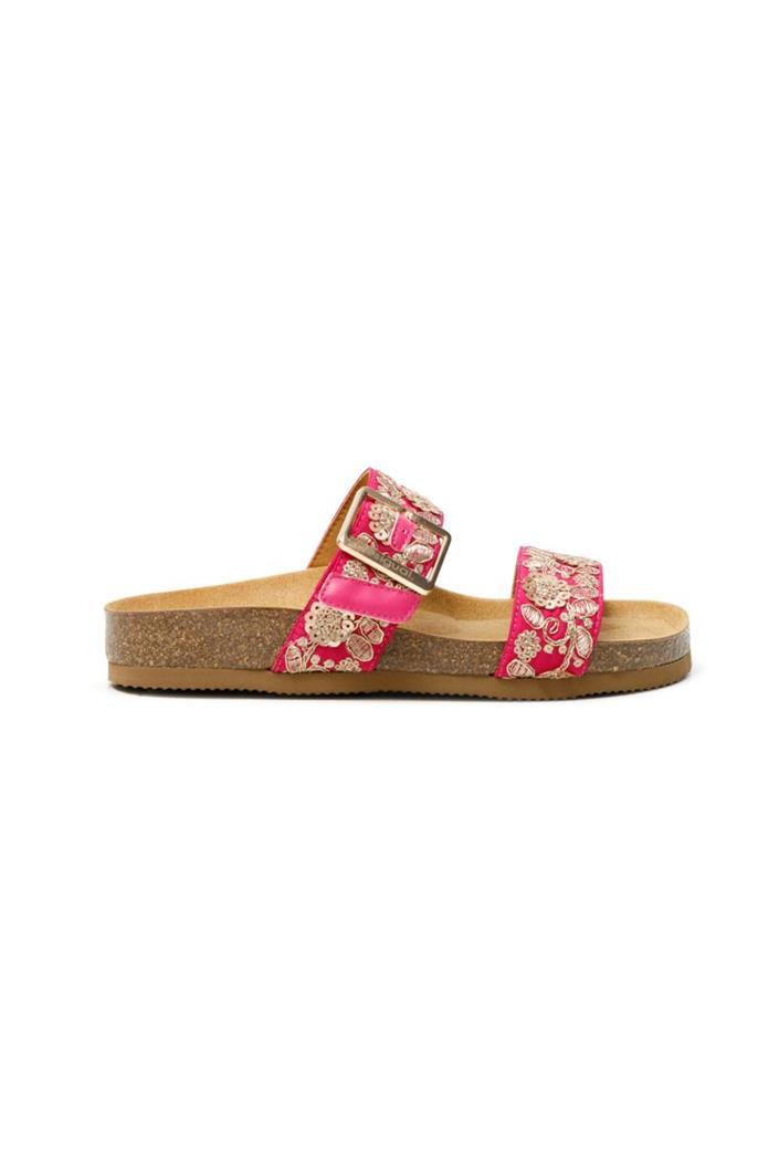 pantofle Desigual Aries Exotic rosa