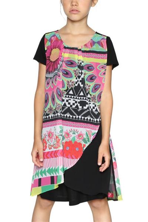 šaty Desigual Bissau negro