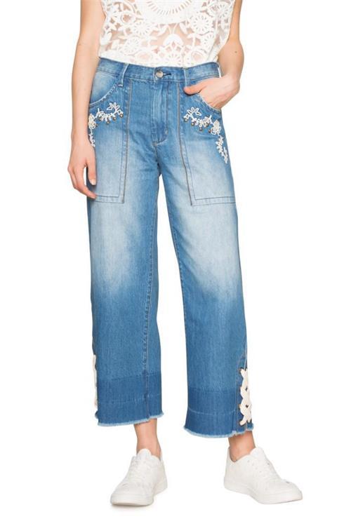 jeansy Desigual Louisa denim light wash