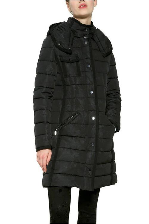 kabát Desigual Pisa negro
