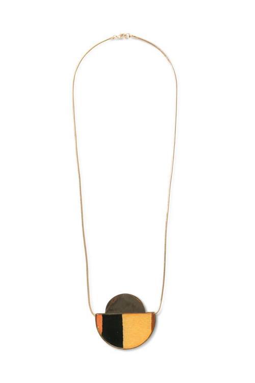 náhrdelník Desigual Collar Moon marron