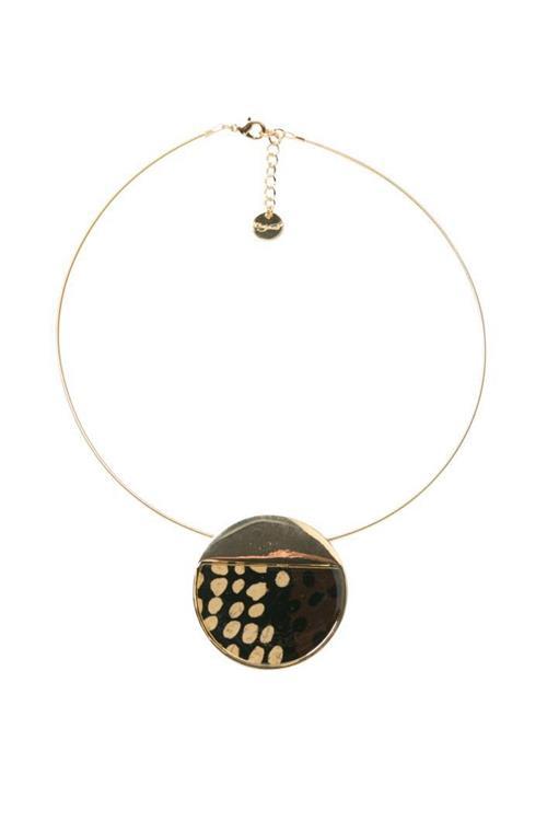 náhrdelník Desigual Collar Nacar marron
