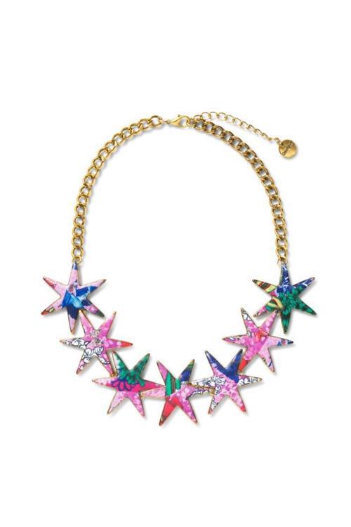 náhrdelník Desigual Collar Alona rosa mora