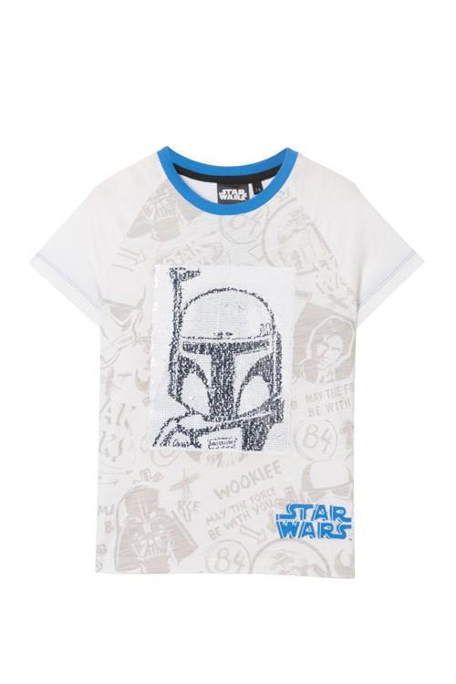 tričko Desigual Force blanco