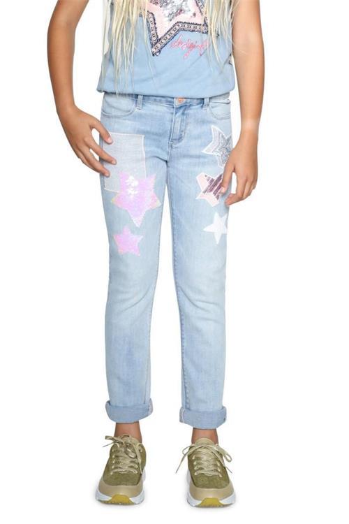 jeansy Desigual Denim Moril denim light wash
