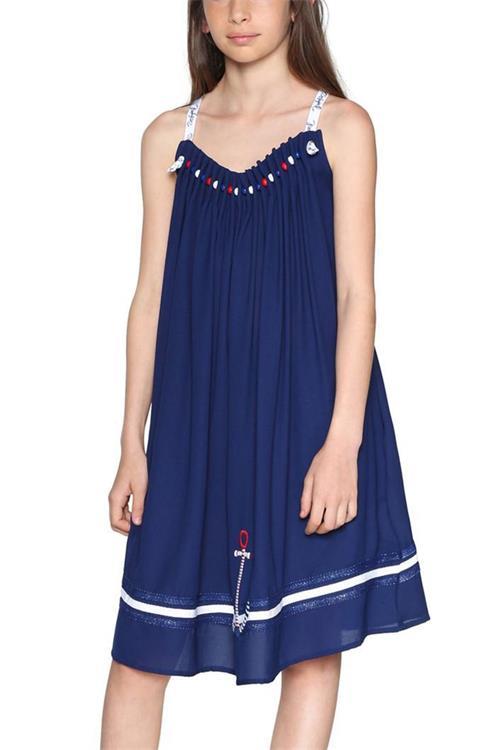 šaty Desigual Abiyán navy