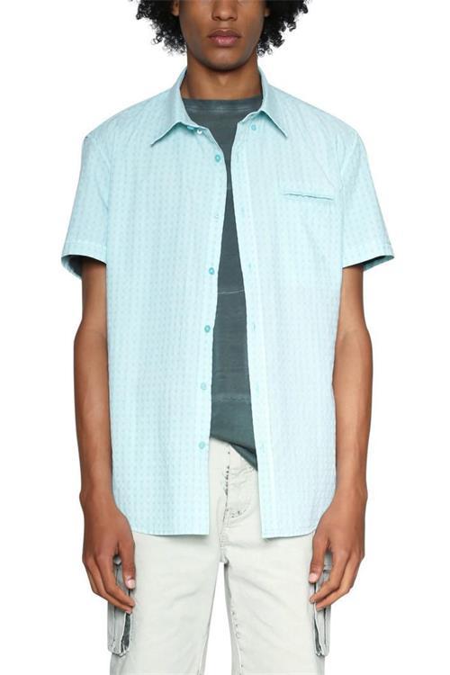 košeľa Desigual Scott turmalina