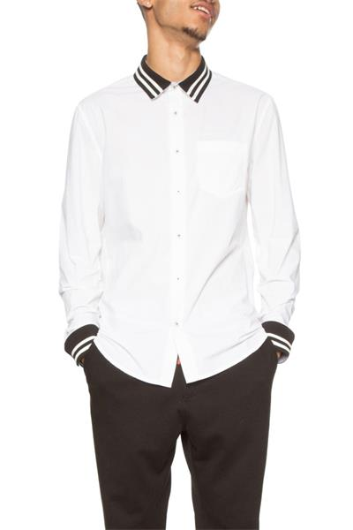 košeľa Desigual Cam Andrew blanco