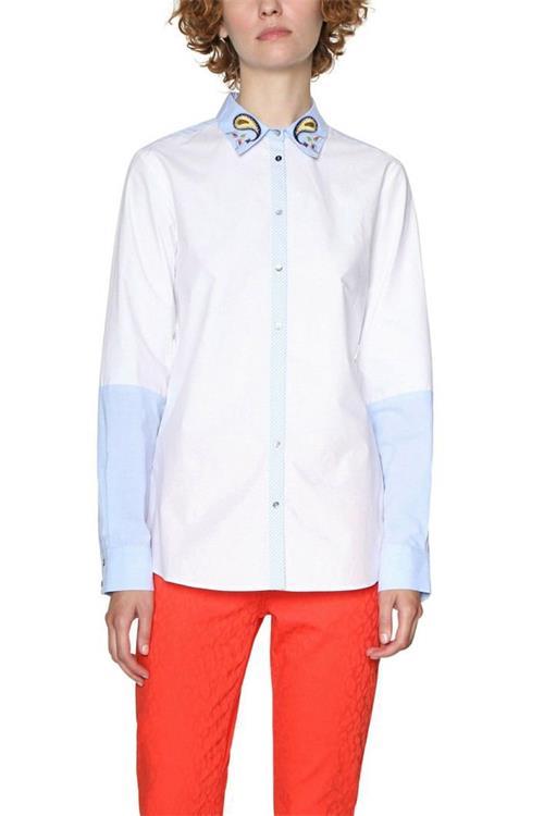 košeľa Desigual Liliane blanco