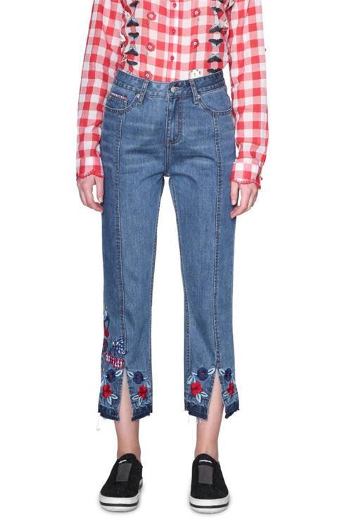 jeansy Desigual Lolita denim light wash