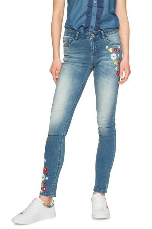jeansy Desigual Denim Loria denim medium light