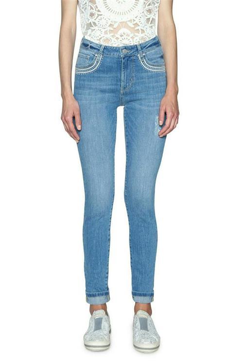 jeansy Desigual Denim Louis denim medium light