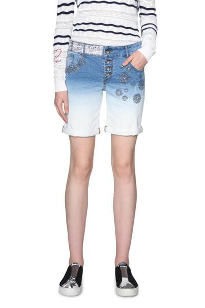 džínsy Desigual Madiss denim medium wash