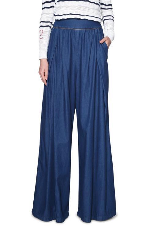 jeansy Desigual Maël denim electric blue