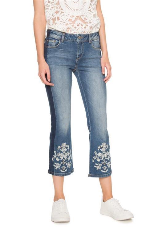 jeansy Desigual Denim Maggy denim medium wash