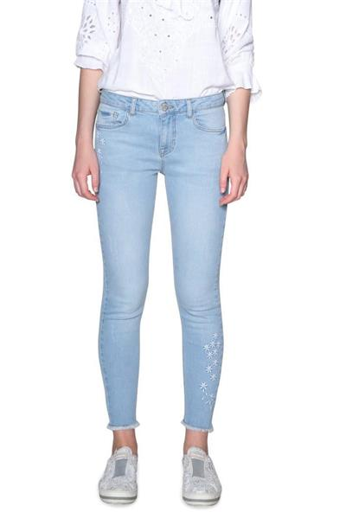 jeansy Desigual Satisf denim bleach soft