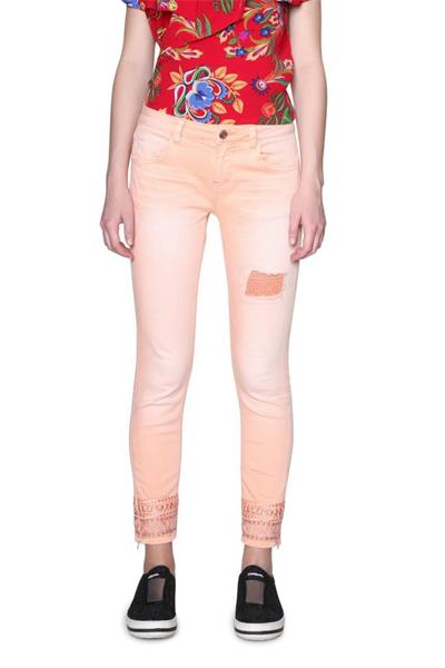 jeansy Desigual Cry Baby bisque