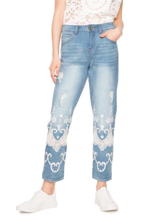 jeansy Desigual Nelly denim medium light