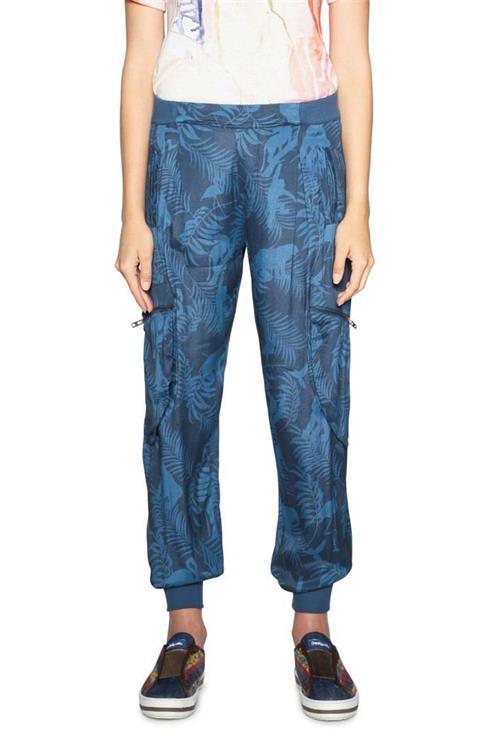 kalhoty Desigual Gaia spectrum blue