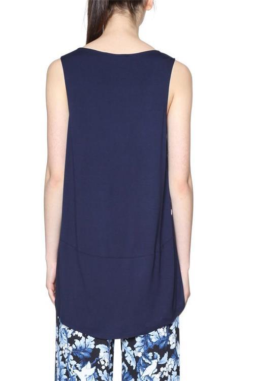 tričko Desigual Bronte spectrum blue