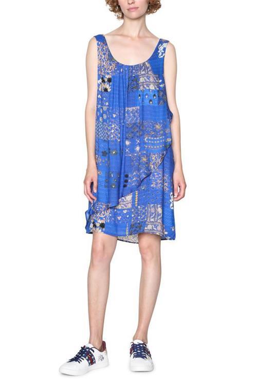 šaty Desigual Prunus Dulc spectrum blue