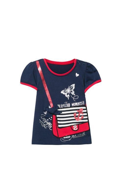 tričko Desigual Cristina navy