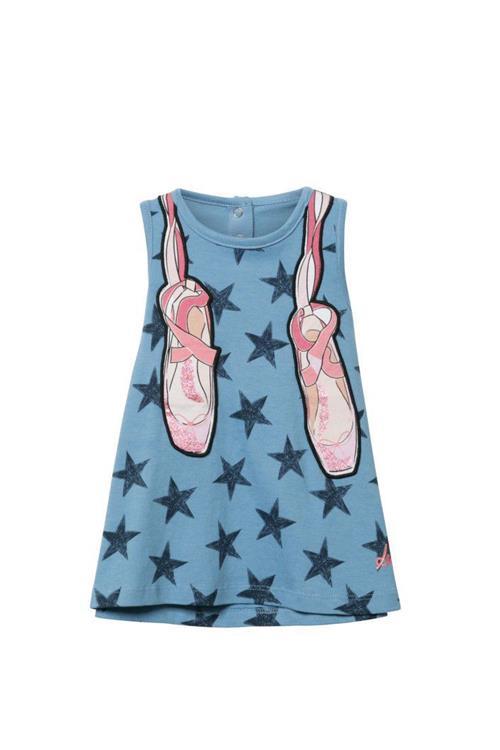 šaty Desigual Carlota azul capri