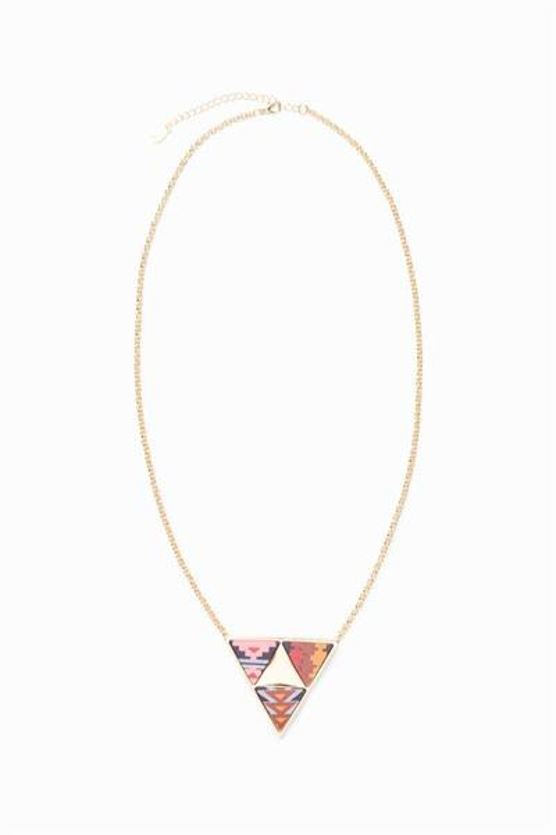 náhrdelník Desigual Peruvian azul europa