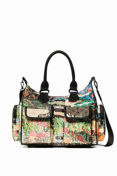 kabelka Desigual London Explorer musgo