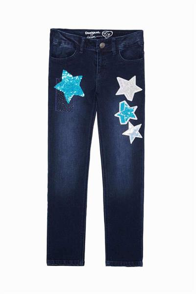 džínsy Desigual Cassamian denim medium wash