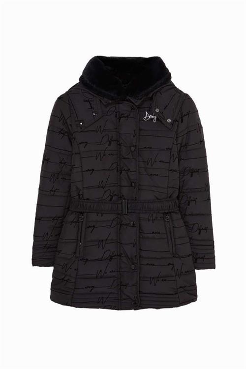 kabát Desigual Hume negro