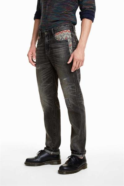 jeansy Desigual Bono denim dark blue