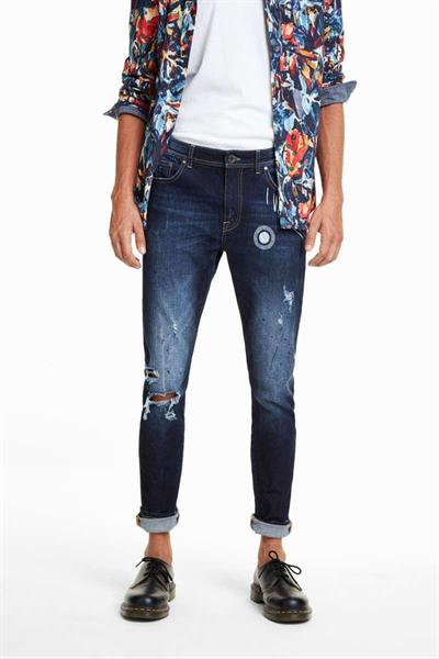 jeansy Desigual Chase denim dark blue
