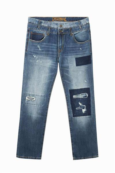 jeansy Desigual Kerem denim dark blue