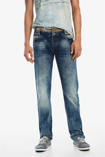 jeansy Desigual Diego denim medium wash