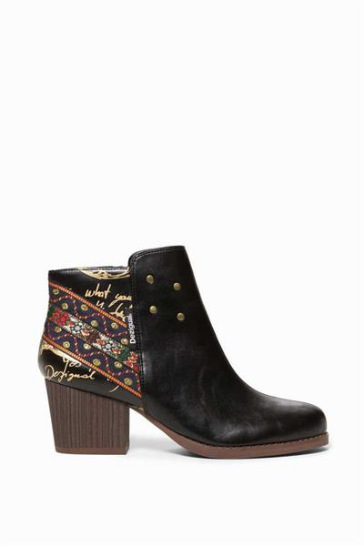 boty Desigual Countar Exotic Ankle negro