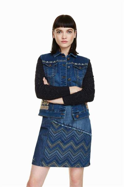 bunda Desigual Bluely navy