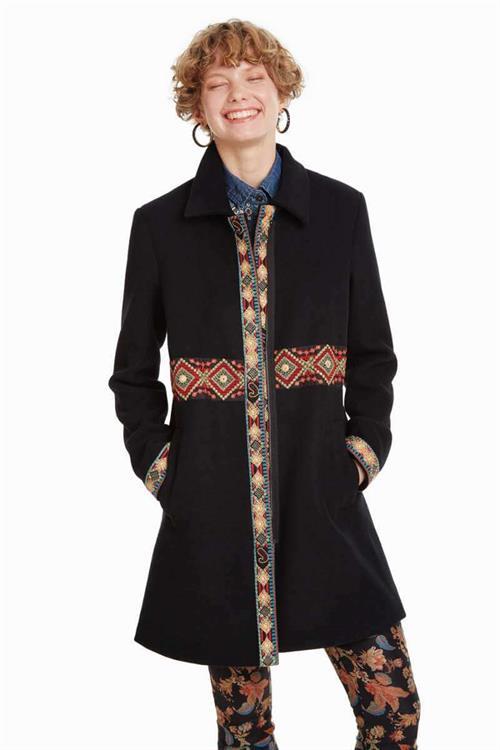 kabát Desigual Eisabeth negro
